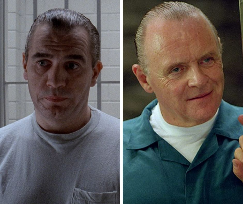 Brian Cox como o Dr. Hannibal Lecktor em