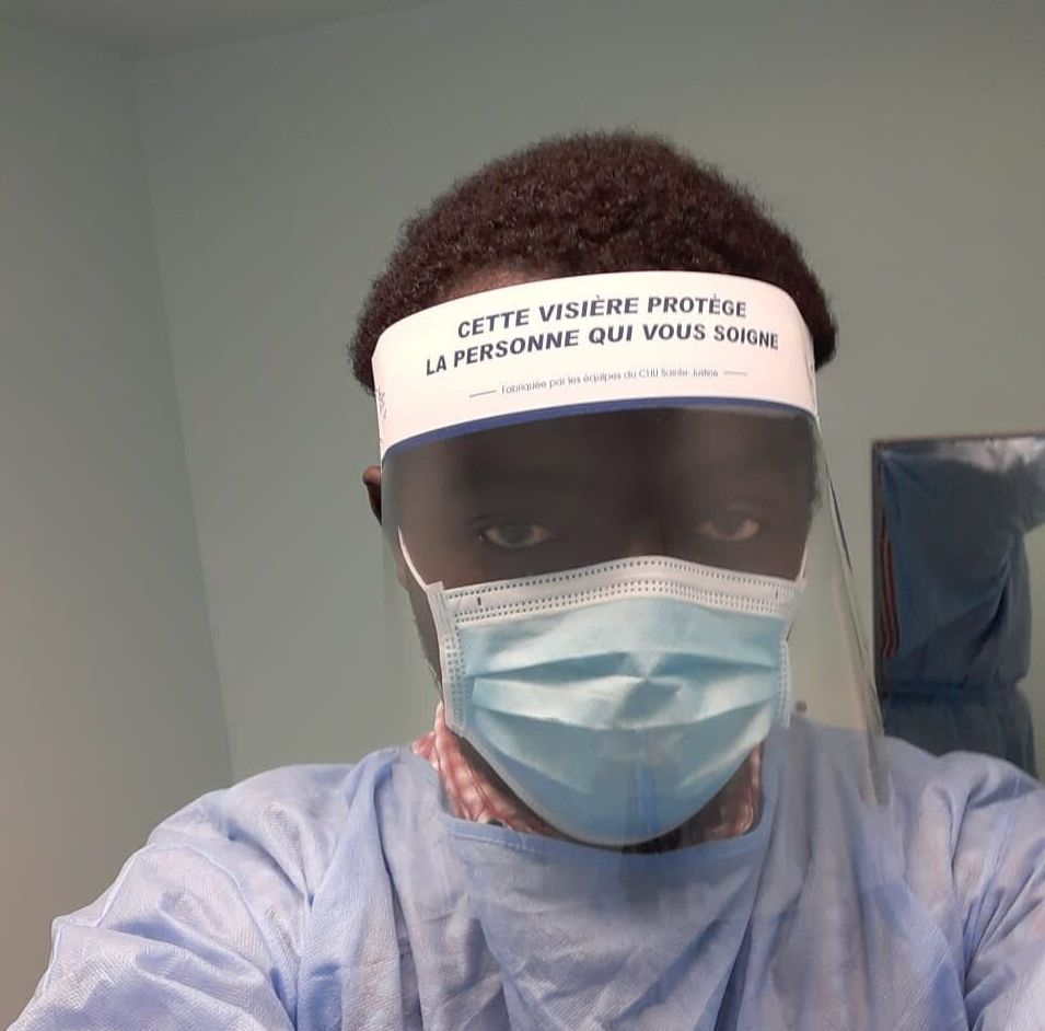Mamadou Konaté caught COVID-19 while working in a Quebec CHSLD in
