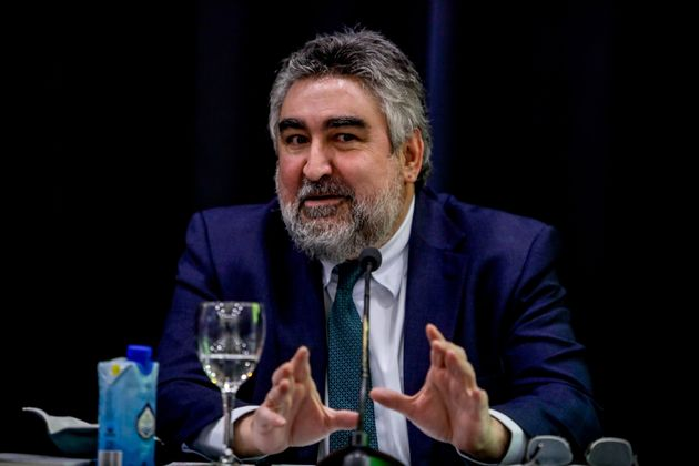 El ministro de CulJosé Manuel Rodríguez