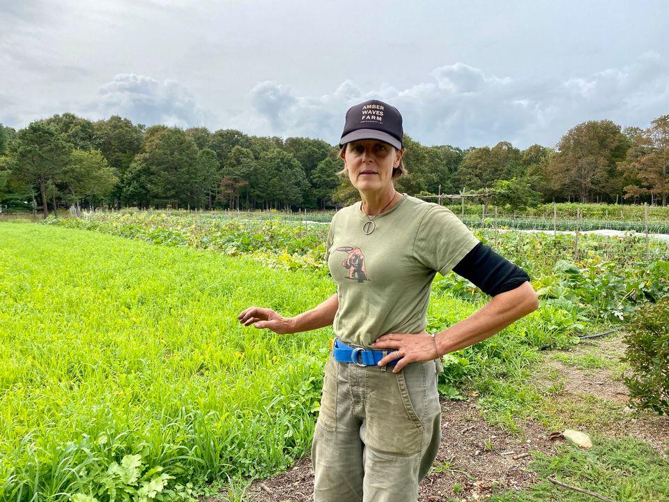 Patty Gentry transformed two acres of trash-strewn dirt on Long Island into a profitable organic farm...