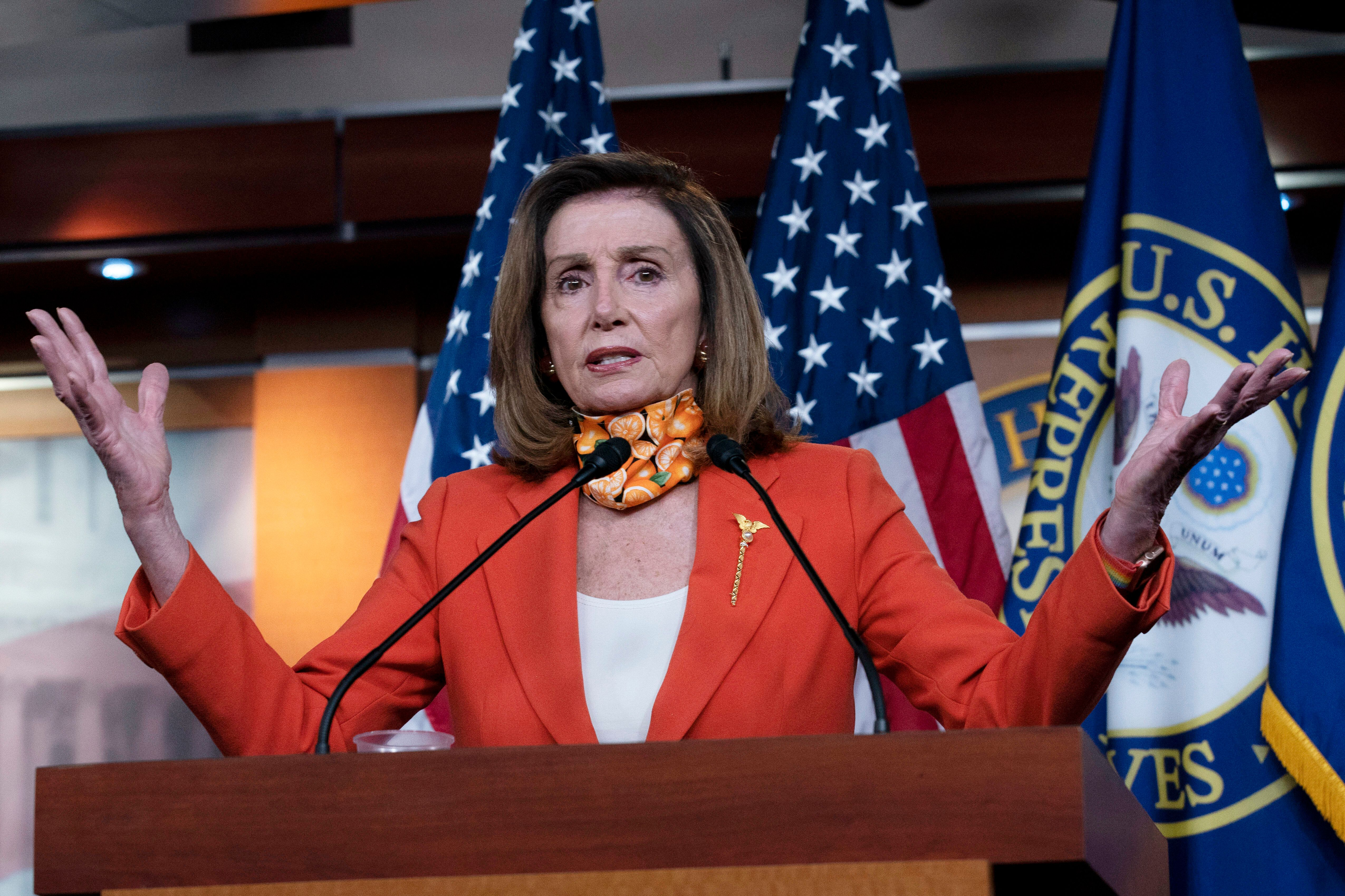 Pelosi Slams Trump Executive Order As 'Insult' To Those With Preexisting Conditions