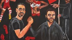 Adam Goodes Reacts To Artist's Portrait Winning Archibald