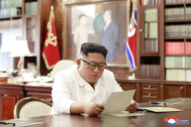 Una imagen de Kim Jong-Un el 22 de junio de 2019