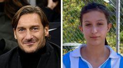 """Totti: """"Ilenia non mollare, ce la farai, siamo con te"""". E la ragazza si sveglia dal"""