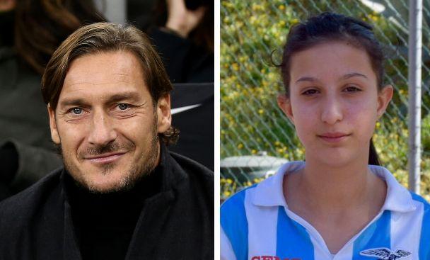 """""""Ilenia non mollare"""": le parole di Francesco Totti fanno svegliare dal coma una giovane tifosa della Lazio"""