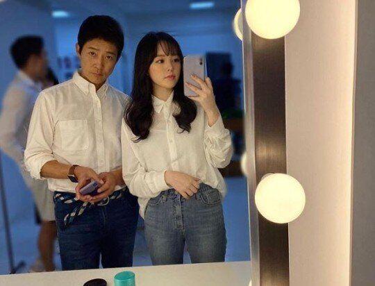 배우 최수종과 딸 윤서