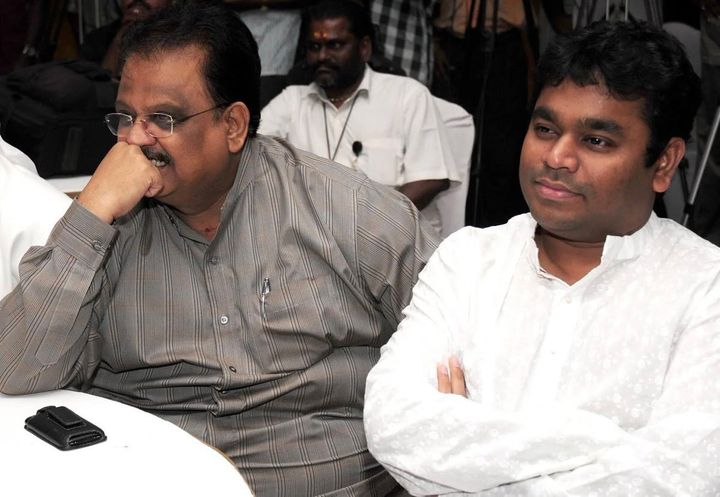 AR Rahman with SP Balasubrahmanyam