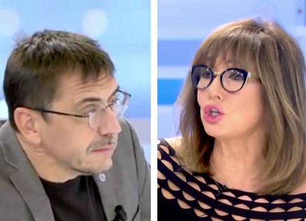 Juan Carlos Monedero y Ana Rosa
