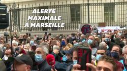 Des centaines de manifestants à Marseille contre la fermeture des bars et