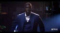 Omar Sy en Arsène Lupin contemporain dans la bande-annonce de la