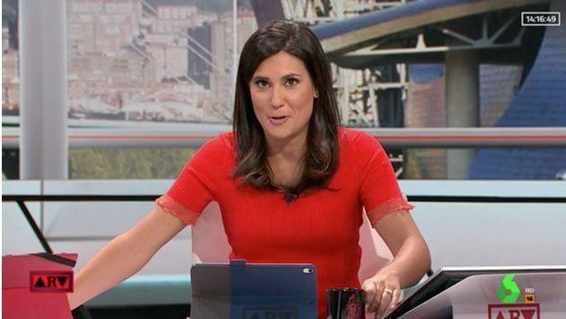 La periodista María