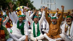 Bharat Bandh In Photos: Farmers Across India Protest Controversial New