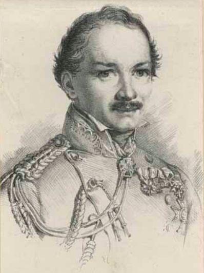 Karl Wilhelm Freiherr von Heideck Λιθογραφία του...