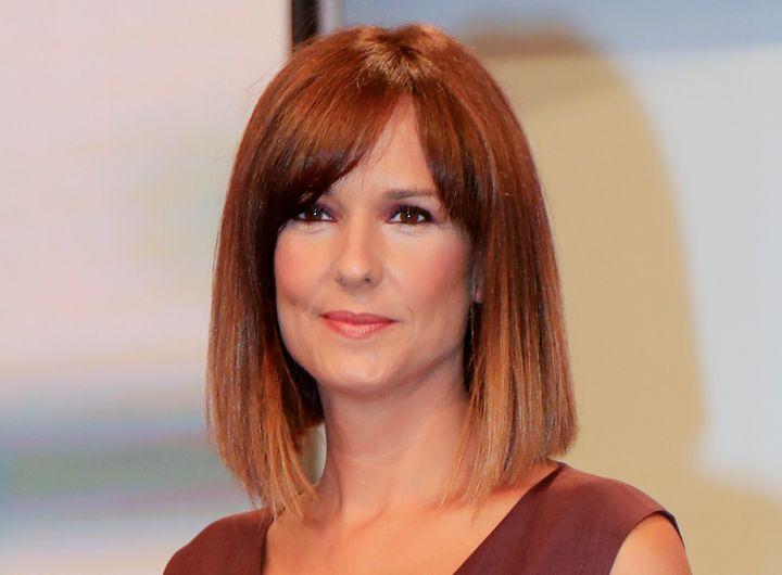 Mónica López, en la presentación de 'La Hora de la 1' (31 de agosto de 2020)