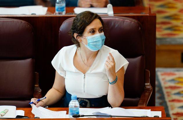 La presidenta de Madrid, Isabel Díaz