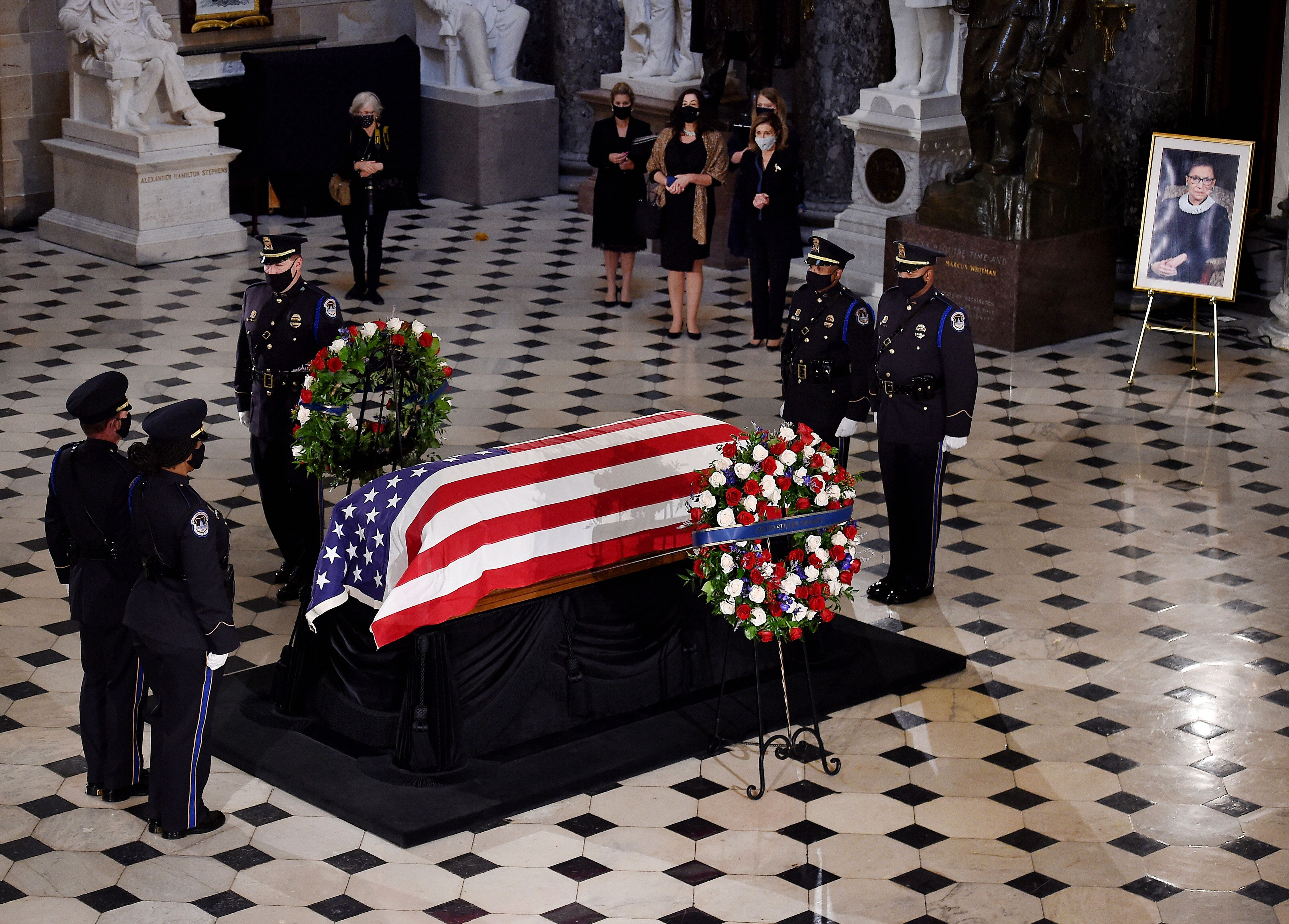 Ruth Bader Ginsburg's Trainer Does Pushups By Her Casket In Moving Tribute