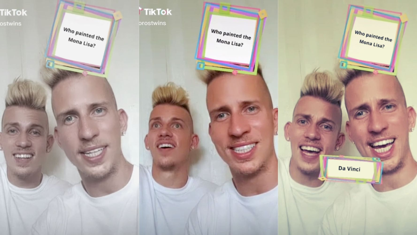 Canadian Twins Behind 'Da Vinki?' TikTok Are Glad You're Laughing