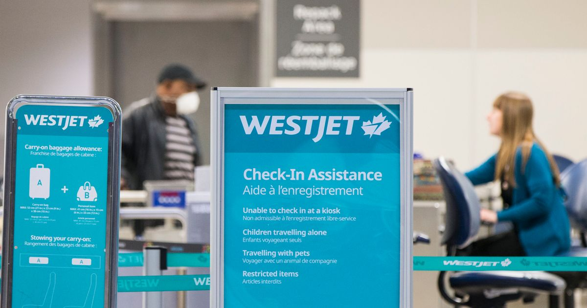 WestJet Tells Workers Their Pay Will Be Cut In Half