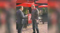 Tentative d'«arrestation citoyenne» contre un journaliste de