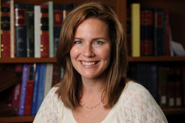 Amy Coney Barrett, probable choix de Trump pour remplacer RBG à la Cour suprême (Photo:...