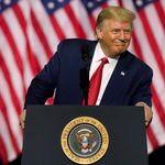 트럼프의 재선 가능성을 보여주는 여론조사 결과가