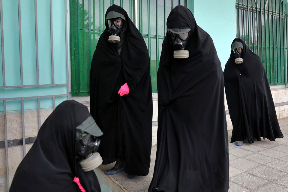 Σε κηδεία στην Τεχεράνη,...