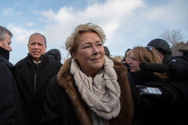 Pauline Marois, en 2014, alors première ministre du