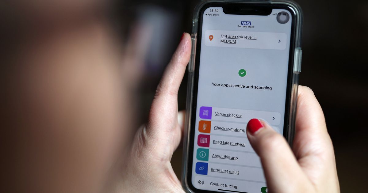 Test Results From NHS Or Government Labs Can't Be Linked With Covid-19 App, Officials Admit