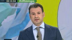 El comentario de Iñaki López sobre Díaz Ayuso que provoca carcajadas en el plató de 'LaSexta