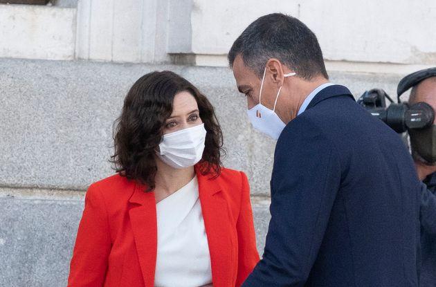 Isabel Díaz Ayuso y Pedro