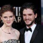 Kit Harington et Rose Leslie de «Game Of Thrones» attendent leur premier