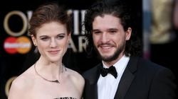 Kit Harington et Rose Leslie de