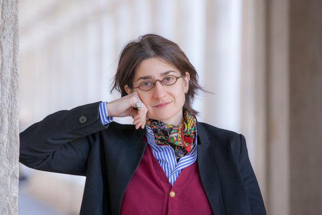 Chiara Valerio, Italian writer, Venice, Italy, 25 January 2019. (Photo by Leonardo Cendamo/Getty