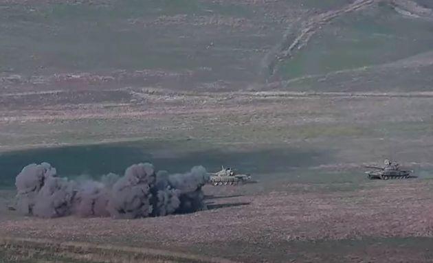 Cette capture d'image, tirée d'une vidéo sur le site officiel du ministère arménien...