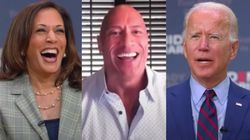 Dwayne Johnson Backs Biden And Harris In First-Ever Presidential