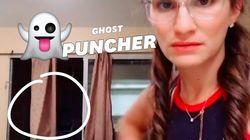 Si un fantôme se manifeste chez vous, appliquez sa