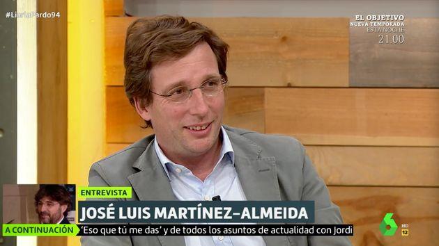 José Luis Martínez-Almeida, en 'Liarla