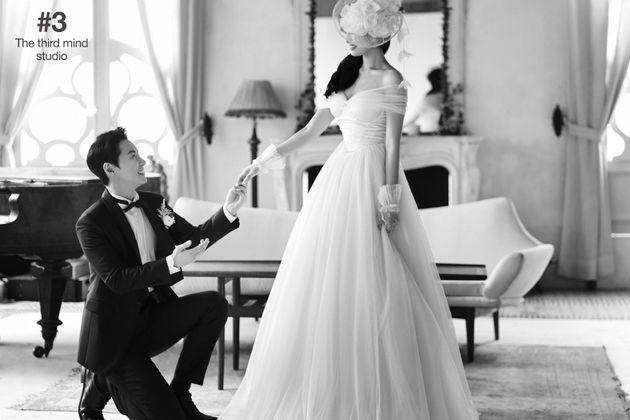 신화 전진이 결혼식 직후 공개한 웨딩 화보