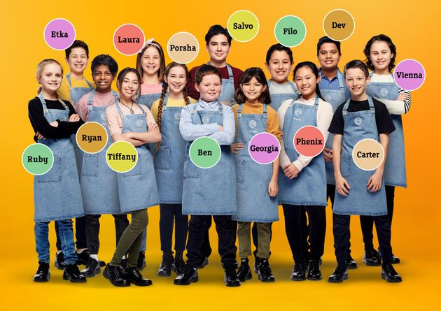 The cast of 'Junior MasterChef