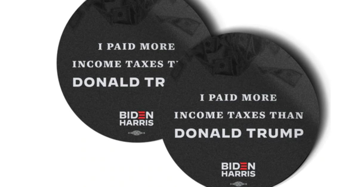 Biden Campaign Shreds Trump With New Ad And Snarky Merch After Incredible Tax Report