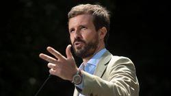 """Pablo Casado: """"Al Gobierno le interesa poner a la Comunidad de Madrid en el foco y eso es"""