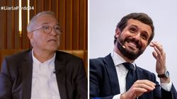 Xavier Sardà se moja (y mucho) con la actitud de Pablo Casado durante la