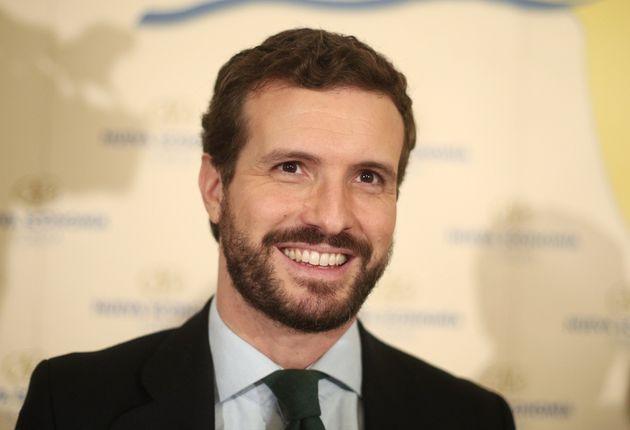 El presidente del PP, Pablo Casado, fotografiado el 14 de enero de 2020 (Eduardo Parra/Europa Press via...