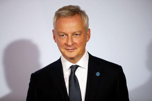 Le ministre de l'Economie et des Finances, Bruno Le Maire, à Berlin, le 11 septembre