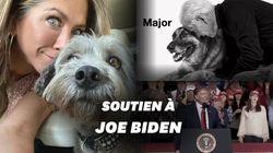Le chien de Jennifer Aniston a un message à faire passer pour la présidentielle