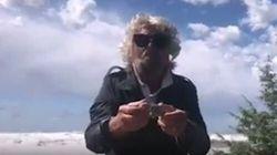 Beppe Grillo vende online pietre