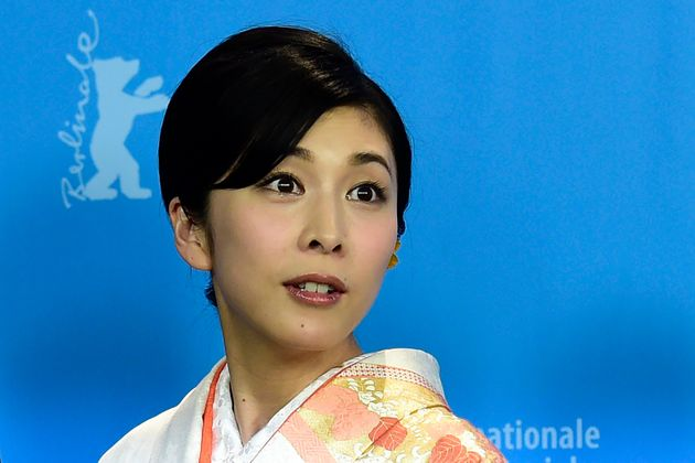 Yuko Takeuchi lors de la 66e édition de la Berlinale pour le film