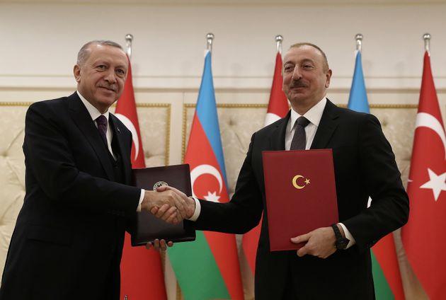 Οι πρόεδροι Τουρκίας...