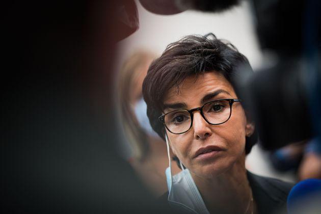 Rachida Dati photographiée lors de l'université d'été des Républicains...