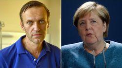 Merkel a rendu visite à l'opposant russe Navalny à l'hôpital de